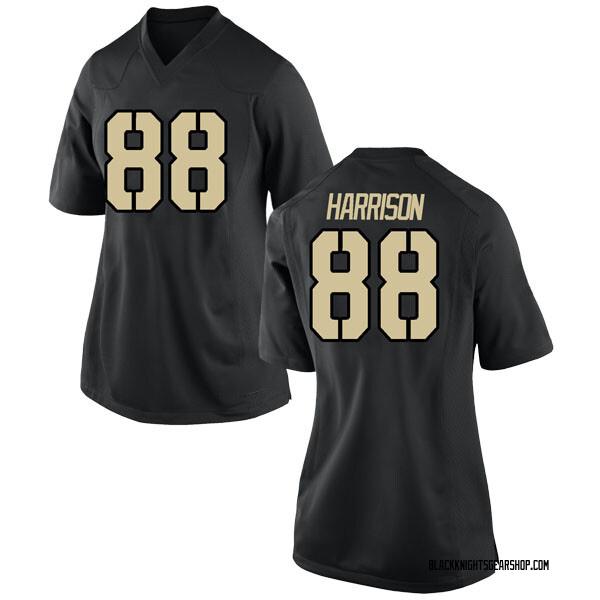 Women's Camden Harrison Army Black Knights Nike Replica Black Football College Jersey