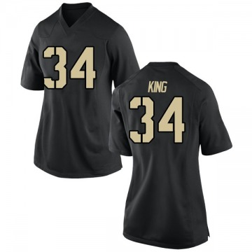 Women's Jack King Army Black Knights Nike Game Black Football College Jersey
