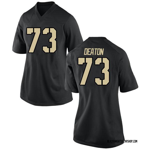 Women's Jaxson Deaton Army Black Knights Nike Game Black Football College Jersey