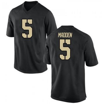Youth Mark Madden Army Black Knights Nike Replica Black Football College Jersey