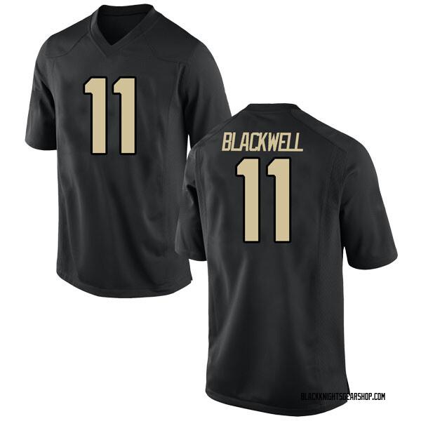 Youth Tucker Blackwell Army Black Knights Nike Replica Black Football College Jersey